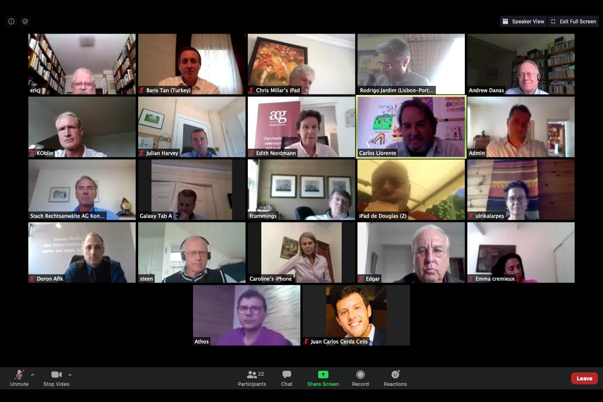 EALG's Annual Meeting on Zoom Platform